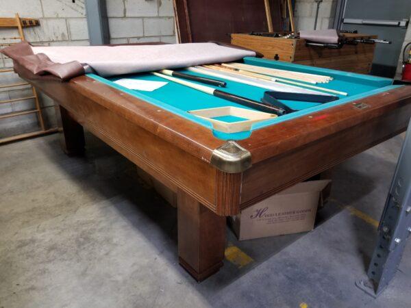 hawthorn brunshwick pool table