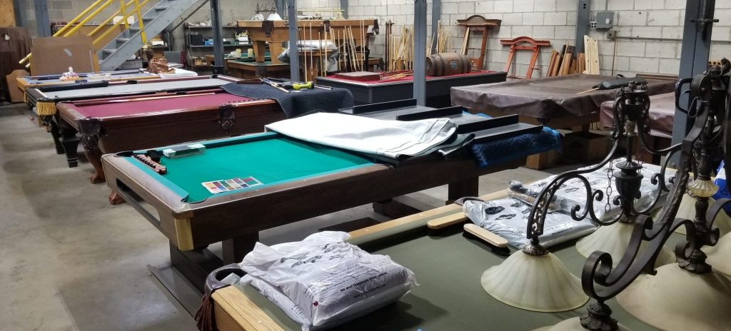 Our Used Pool Table Store